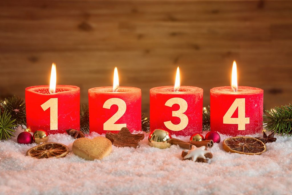 Vierter Advent (Foto: Adobe Stock)